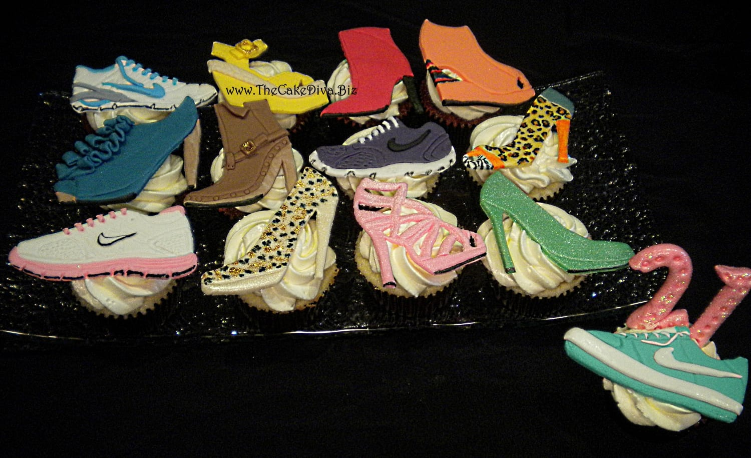 Fancy Shoes Cupcakes