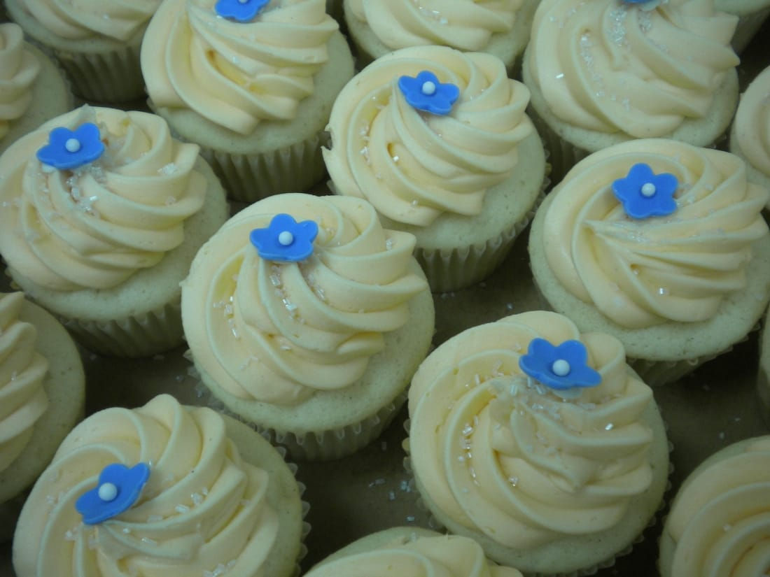 Elegant Vegan Cupcakes for a wedding or any occasion!