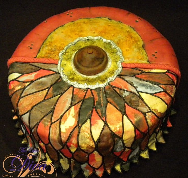 Designer Tiffany Lamp Cake