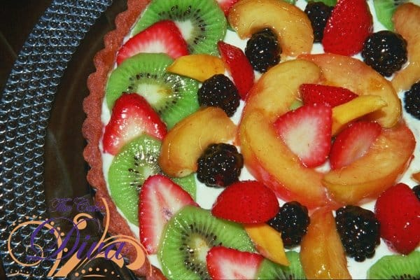 Fresh Organic Fruit Tart