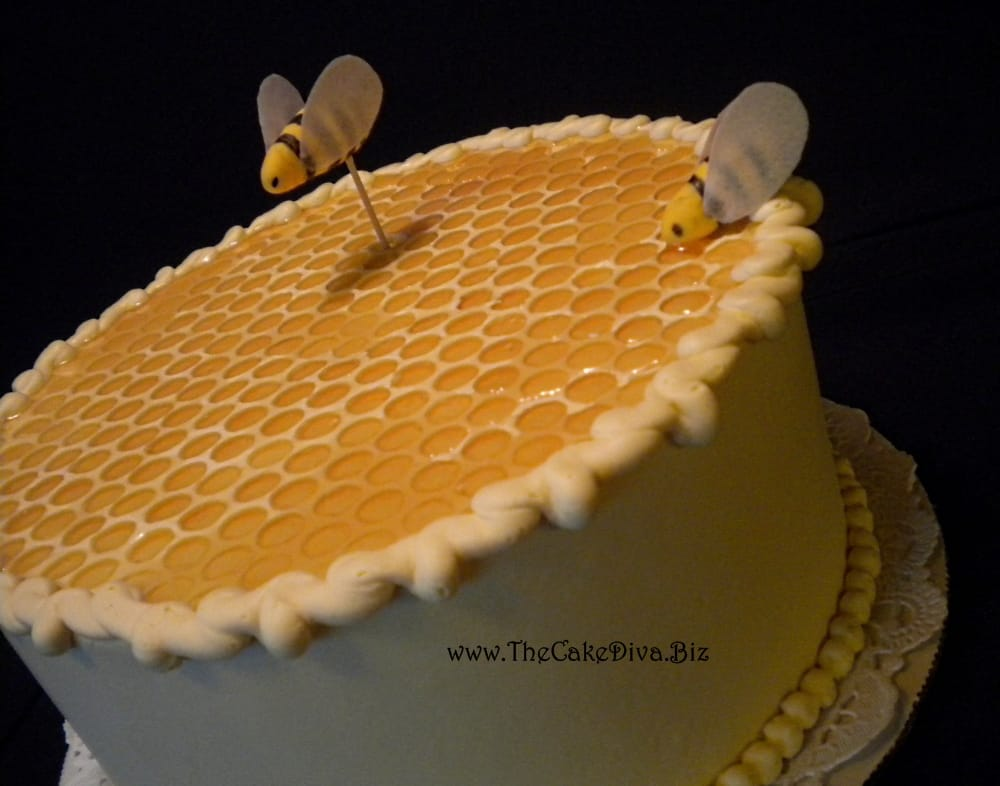 Honey Cake with Bees