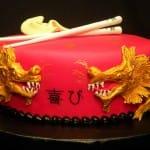 Asian Dragon Cake