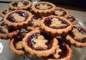 Mini Linzer Tarts