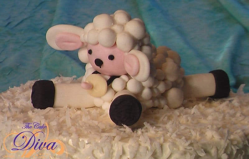 Baby Shower Lamb