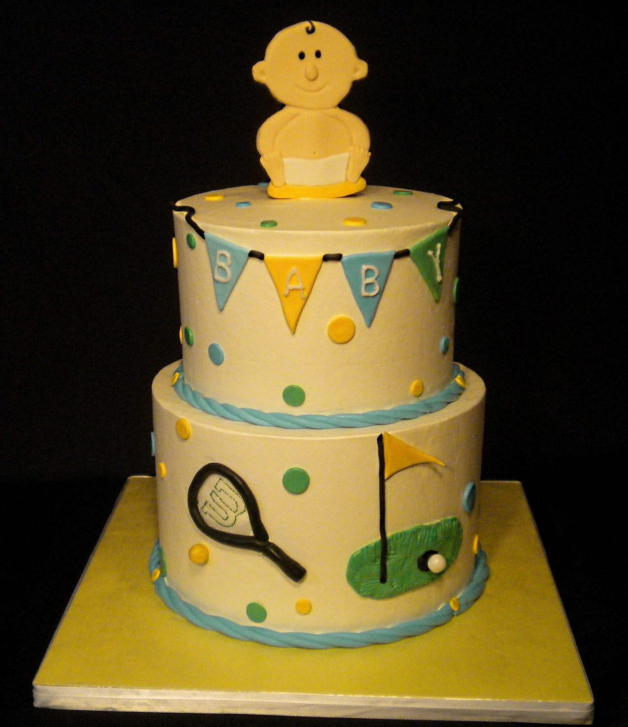 Baby on Cake