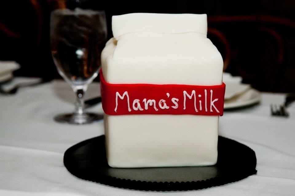 Milk Carton Cake