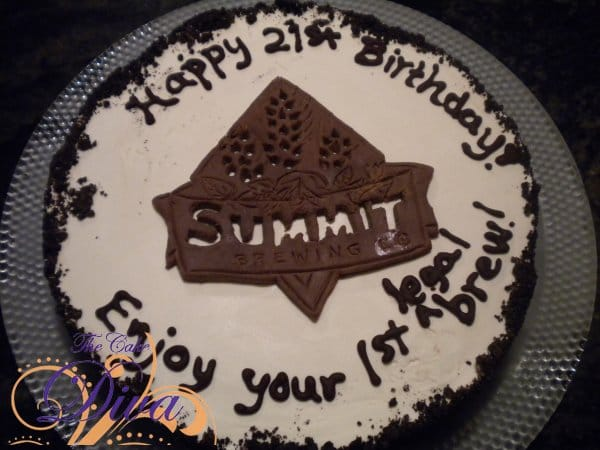 Summit Brewing Cake