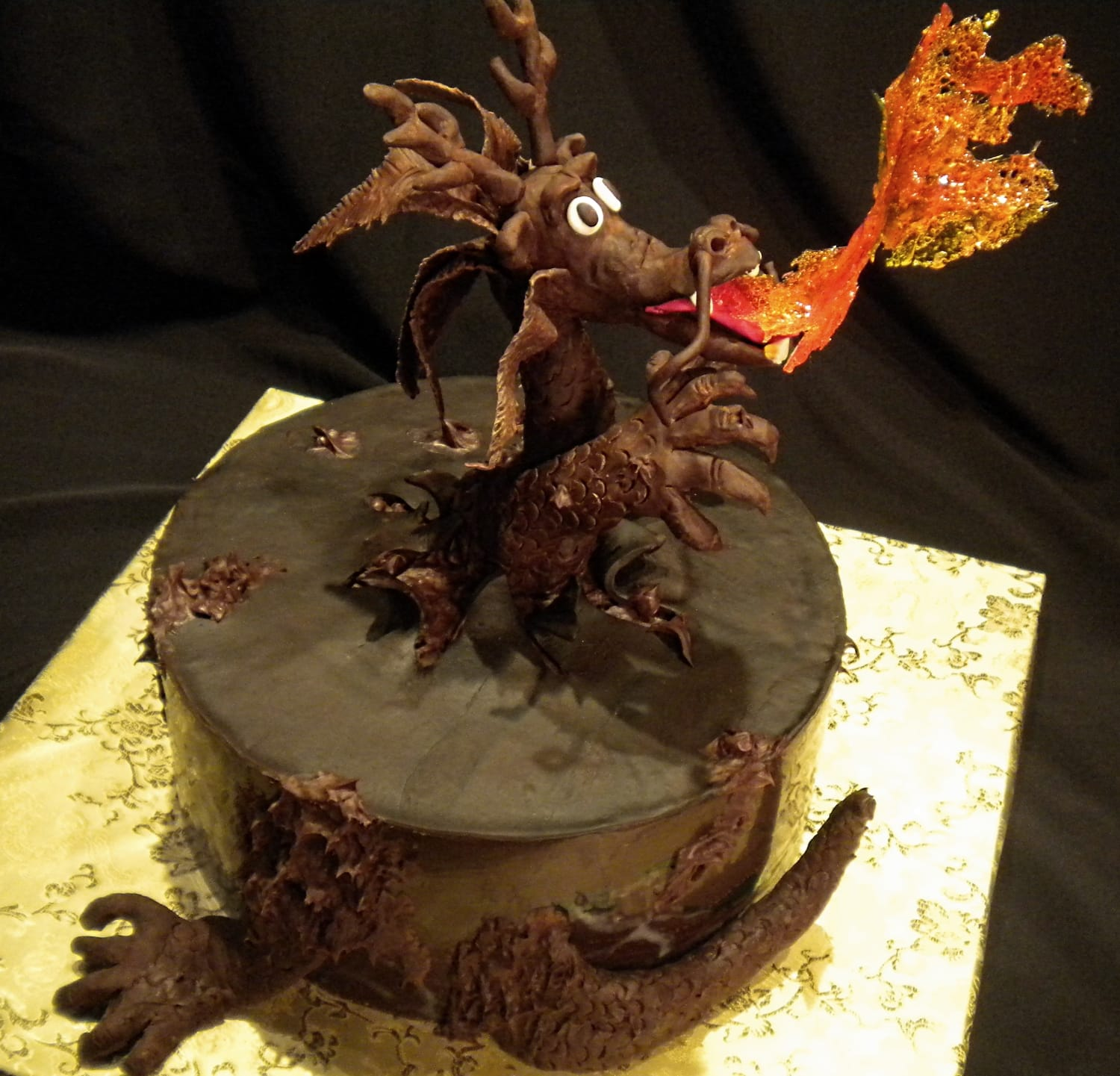 Dragon Cake for Taste of Chocolate 2012
