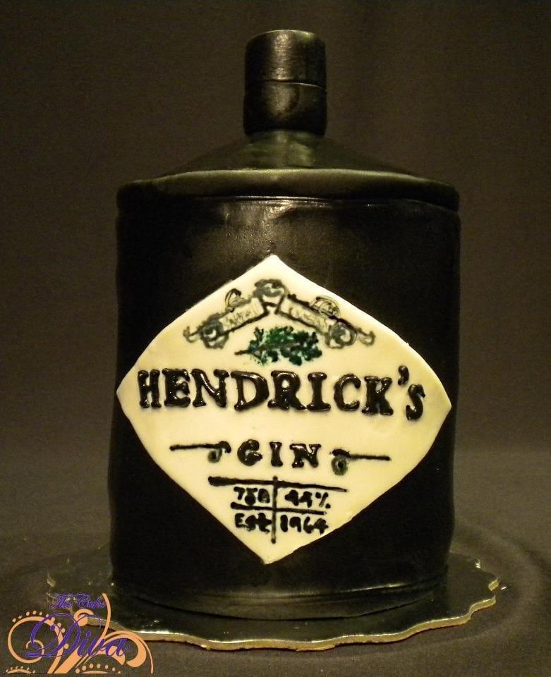 Hendrick\'s Gin Cake