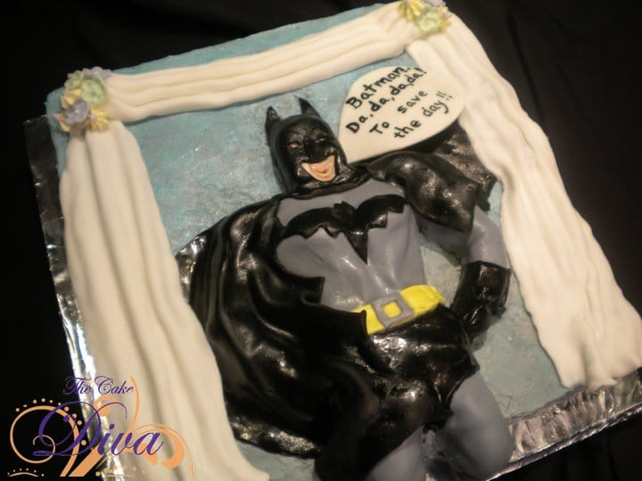 Batman Groom\'s Cake