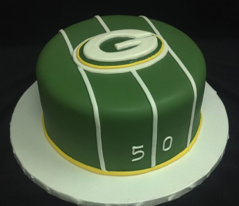 Green Bay Packer Cake