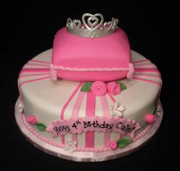 Princess Cake with Crown