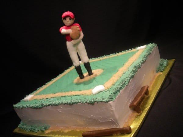 Girl's Softball Cake
