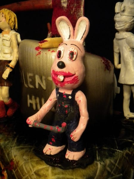 Robbie Rabbit on Silent Hill Cake