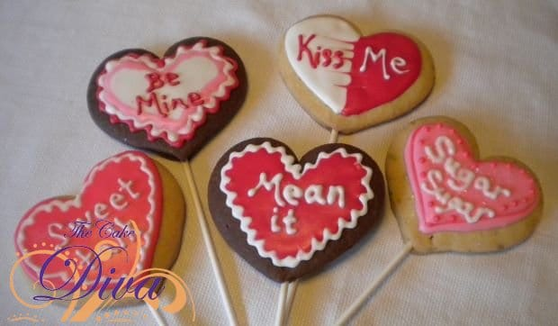 Sugar Cookies on a Stick