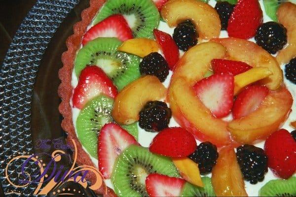 Fresh Organic Fruit Tart
