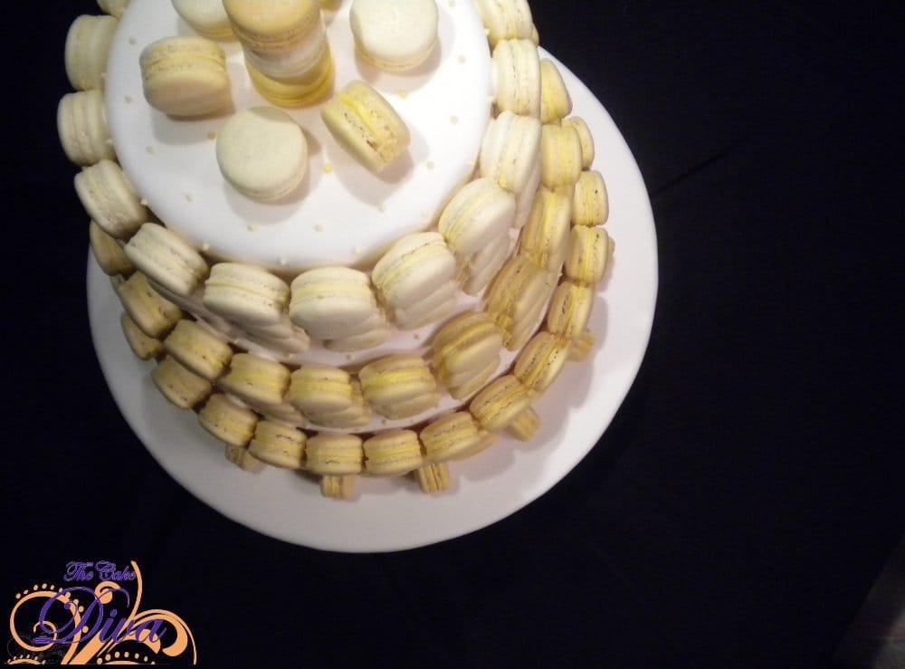French Macaron Cake