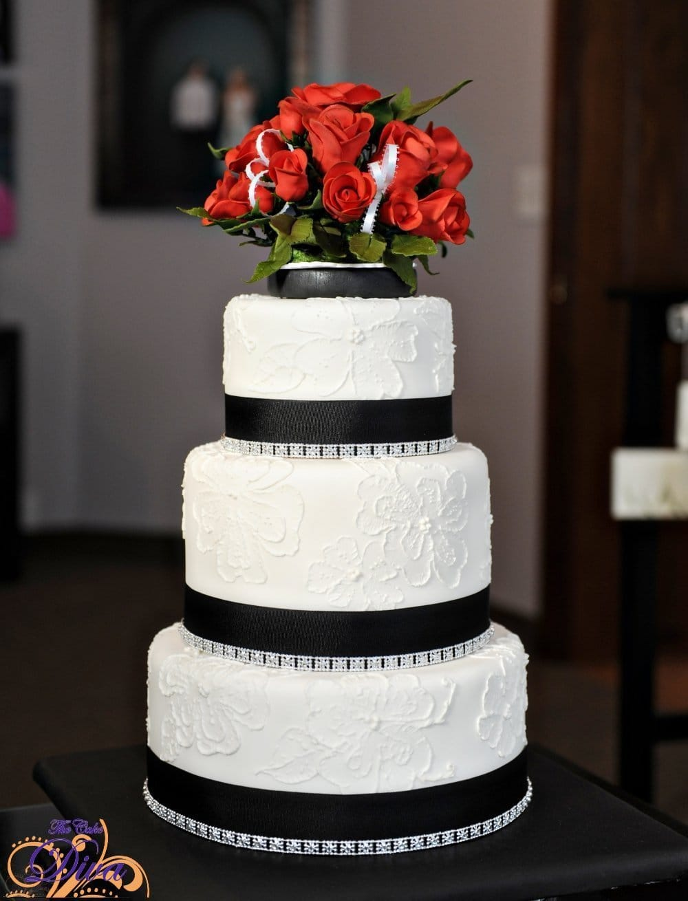 Cake diva minneapolis minnesota wedding cake